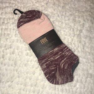 🆕 Frye 2 Pair Heavyweight Low Socks